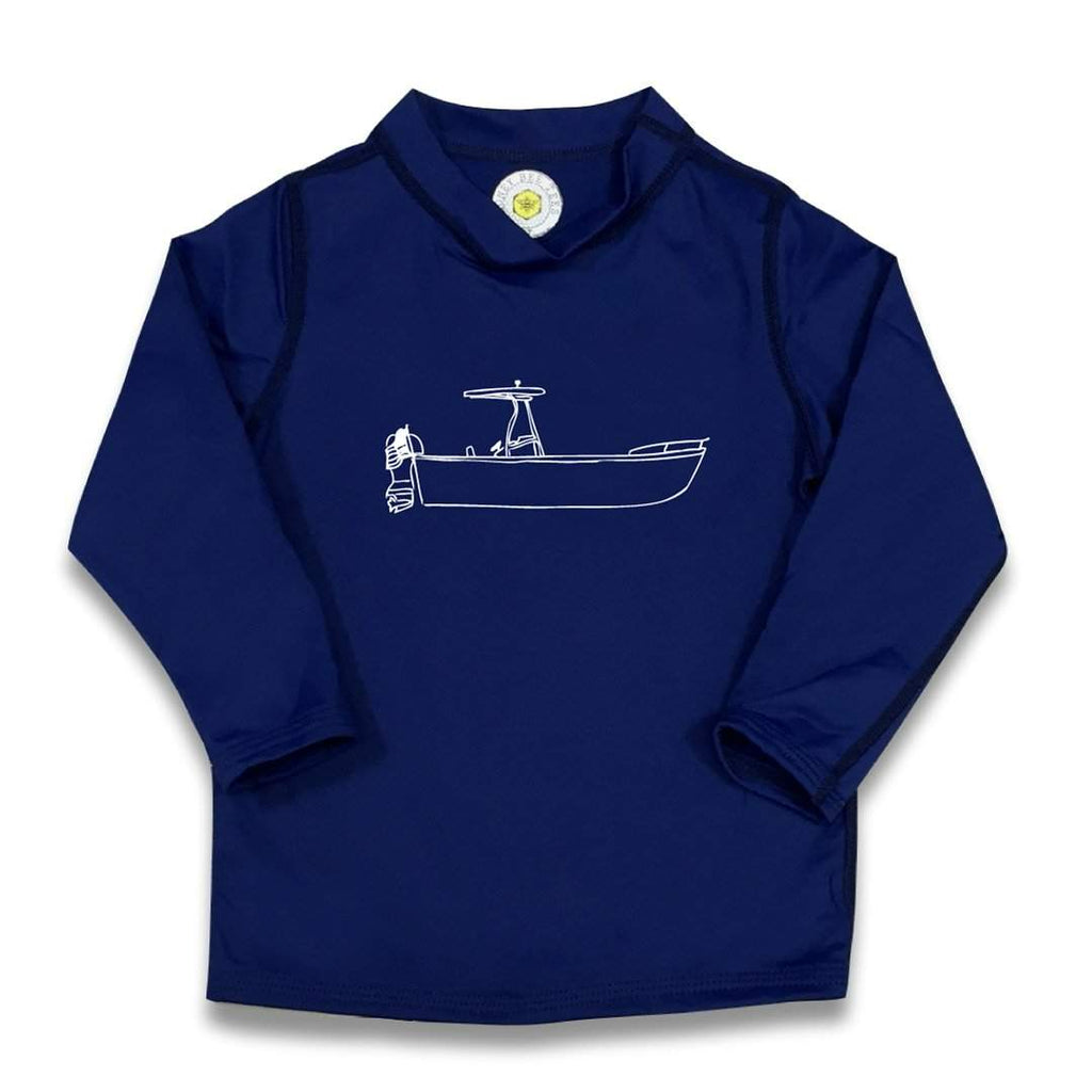 Boat Ride Long Sleeve Rash Guard UPF 50+