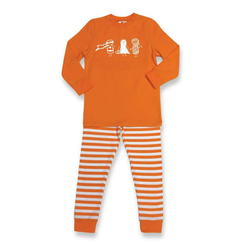 Boy Trick or Treat Long Sleeve Sleepwear