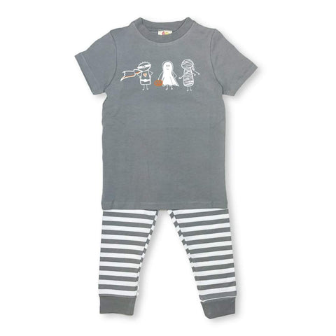 Boy Trick or Treat Short Sleeve Sleepwear