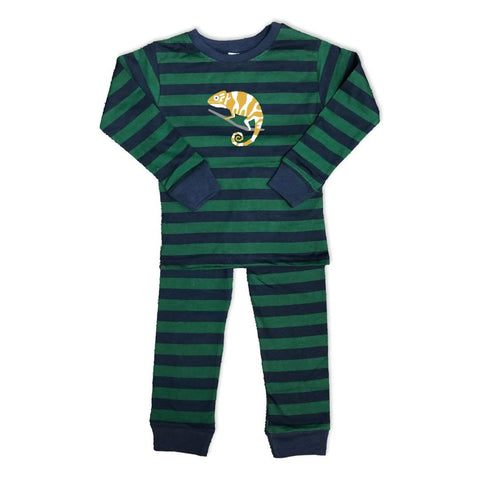 Chameleon Long Sleeve Striped Sleepwear