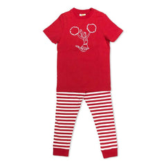 Short Sleeve Cheerleader Sleepwear