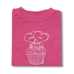 Conversation Cupcake Long Sleeve Tee
