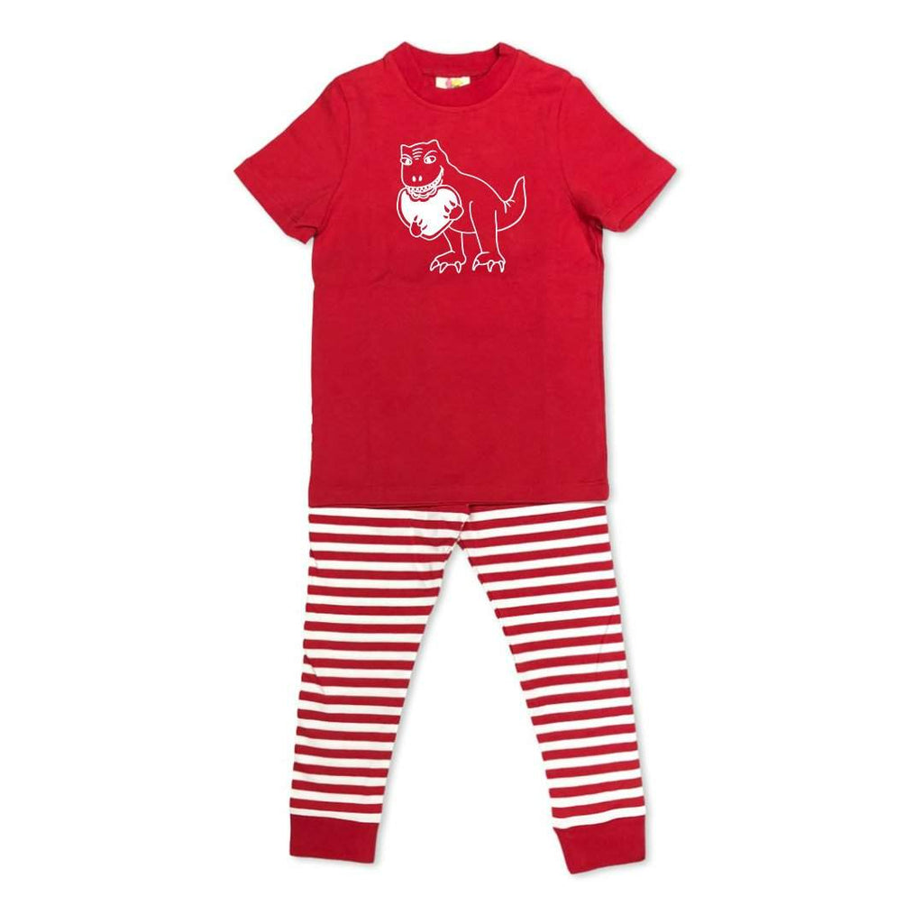 Short Sleeve Dino Love Sleepwear