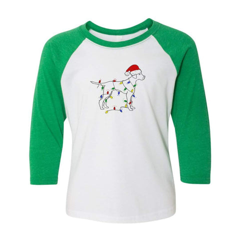 Jingle Dog Raglan Tee