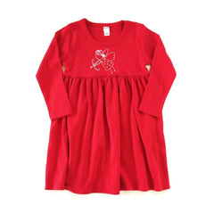 Cupid Long Sleeve Dress - Honey Bee Tees - 1