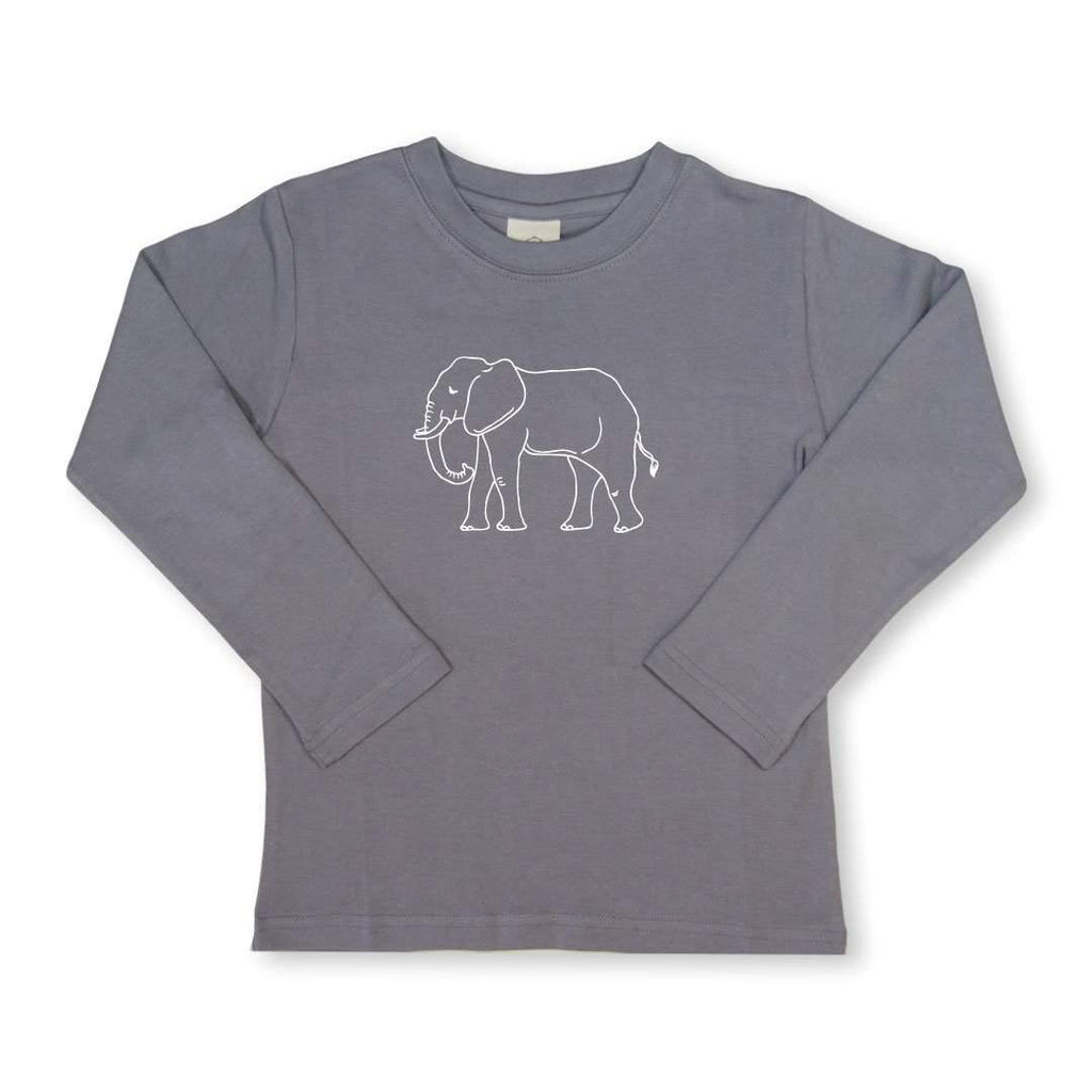 Elephant Long Sleeve Tee HBT