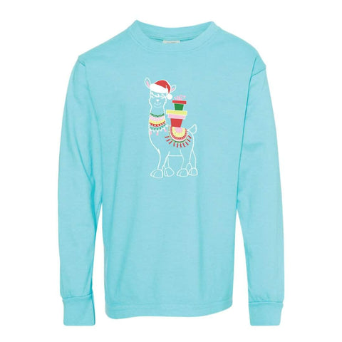 Fa-la-llama Adult Long Sleeve Tee