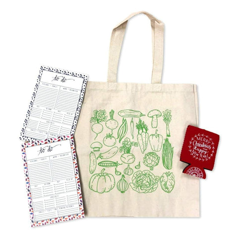 Farmer's Market Tote Teacher Gift Set