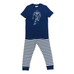 Short Sleeve Football Player Sleepwear