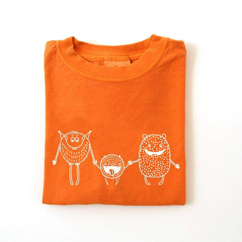 Friendly Monster Long Sleeve Tee