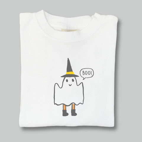 Friendly Ghost Long Sleeve Tee