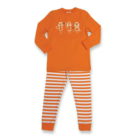 Girly Trick or Treat Long Sleeve Sleepwear