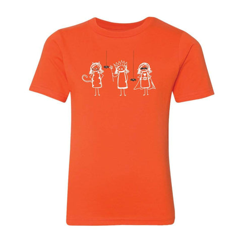 Girly Trick or Treat Short Sleeve Tee