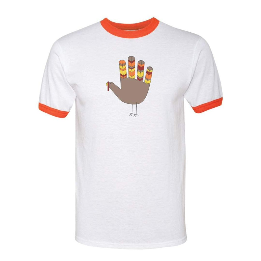 Give Thanks Short Sleeve Ringer Tee