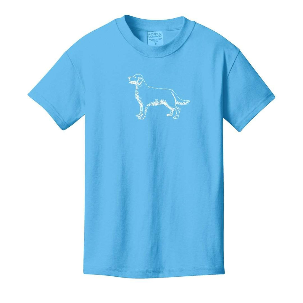 Golden Retriever Short Sleeve Tee