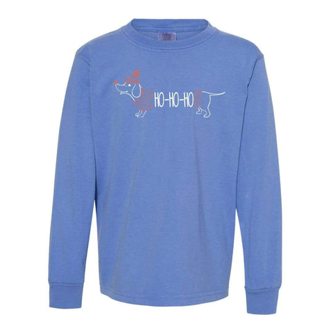 HoHoHo Dog Long Sleeve Tee