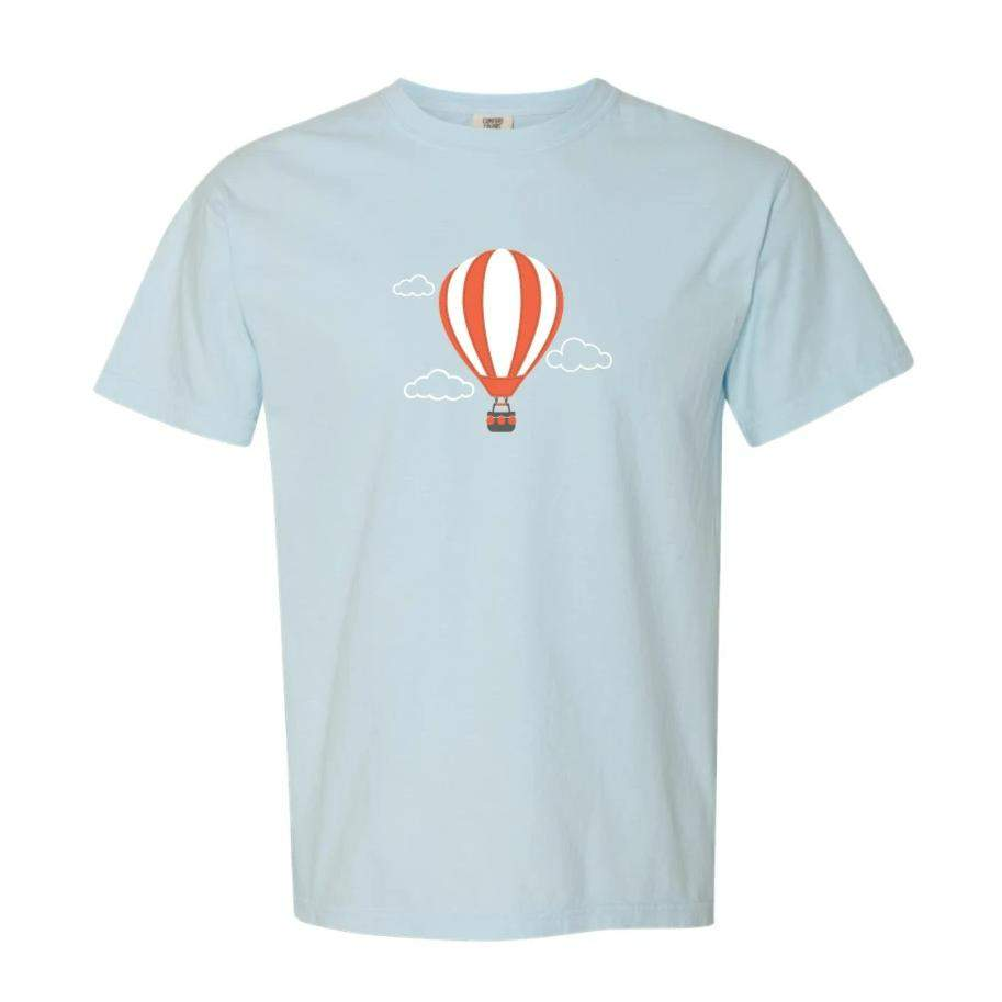Hot Air Balloon Short Sleeve Tee