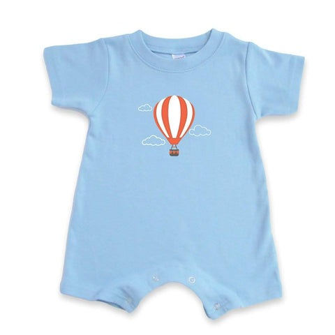 Hot Air Balloon Short Sleeve Infant Romper