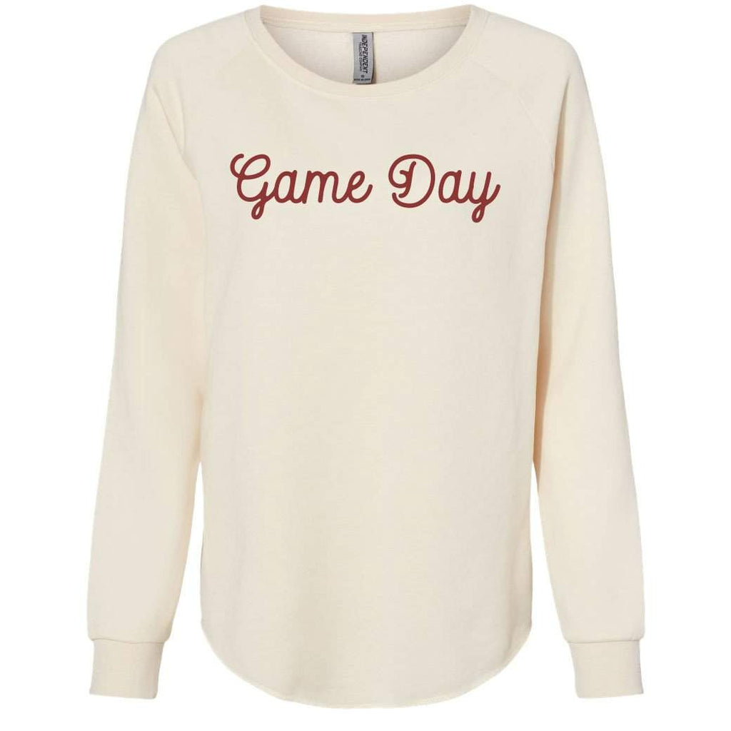 Adult Women's Game Day Cursive Sweatshirt