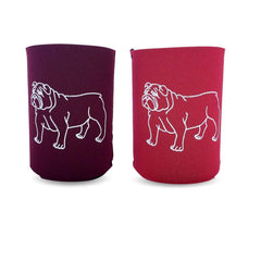Bulldog Neoprene Koozie - Honey Bee Tees - 1