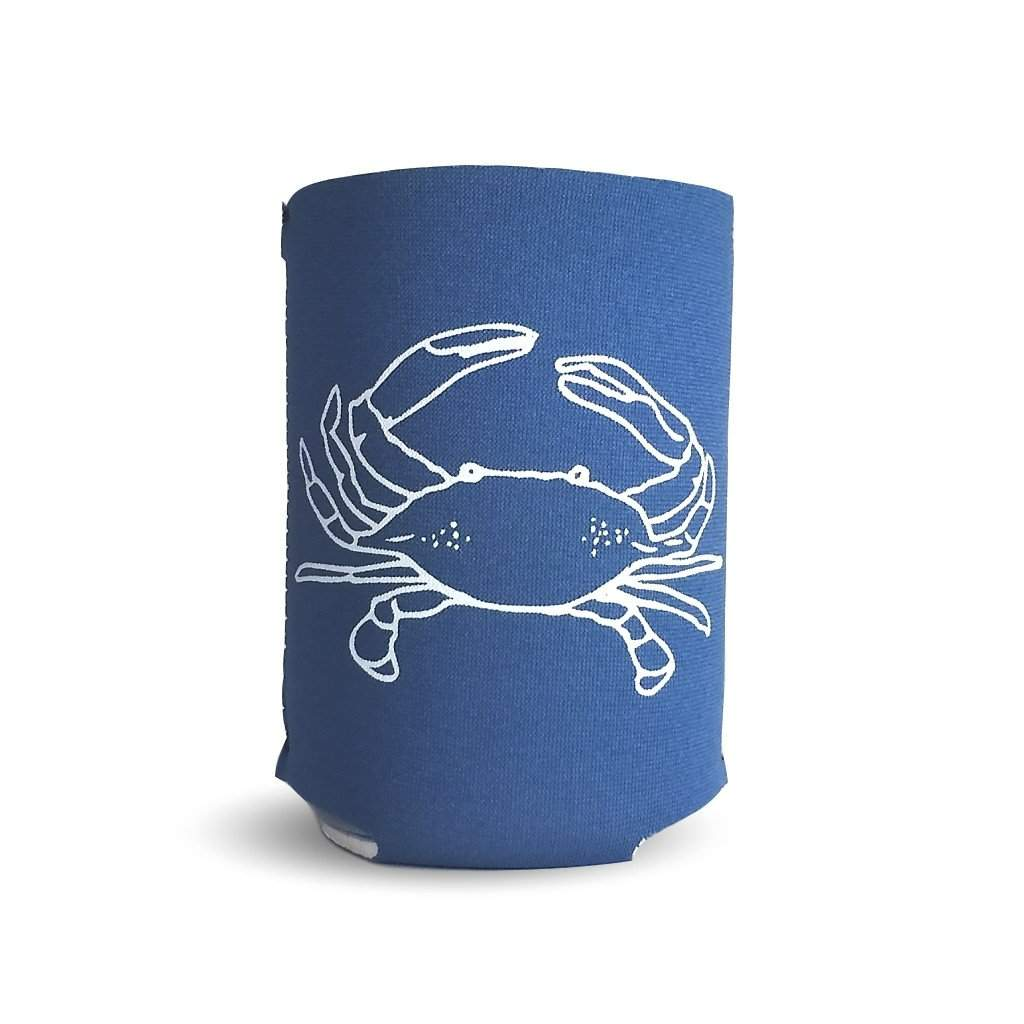 Crab Neoprene Koozie - Honey Bee Tees