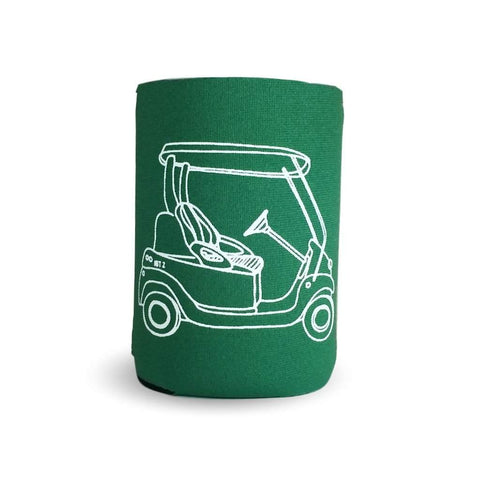 Golf Cart Neoprene Koozie
