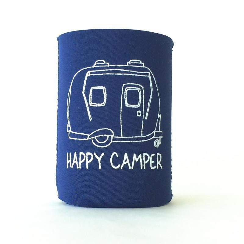 Happy Camper Neoprene Koozie - Honey Bee Tees - 2