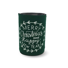 Merry Christmas & Happy New Year Koozie - Honey Bee Tees - 3
