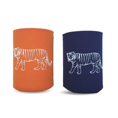 Tiger Neoprene Koozie - Honey Bee Tees - 1