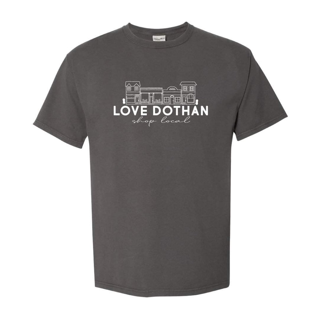 Love Dothan Shop Local Adult Short Sleeve Tee