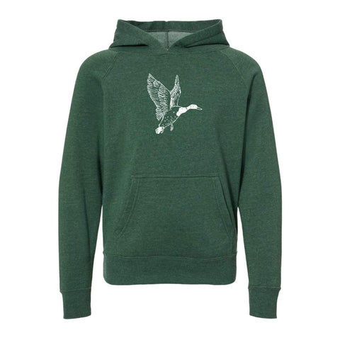 Mallard Duck Hooded Sweatshirt