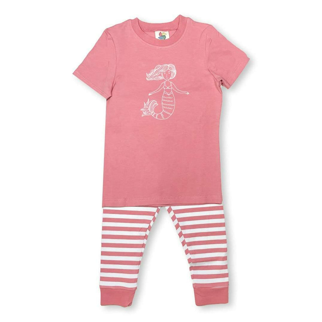 Short Sleeve Mermaid Sleepwear