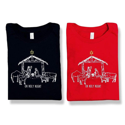Nativity Adult Long Sleeve Tee
