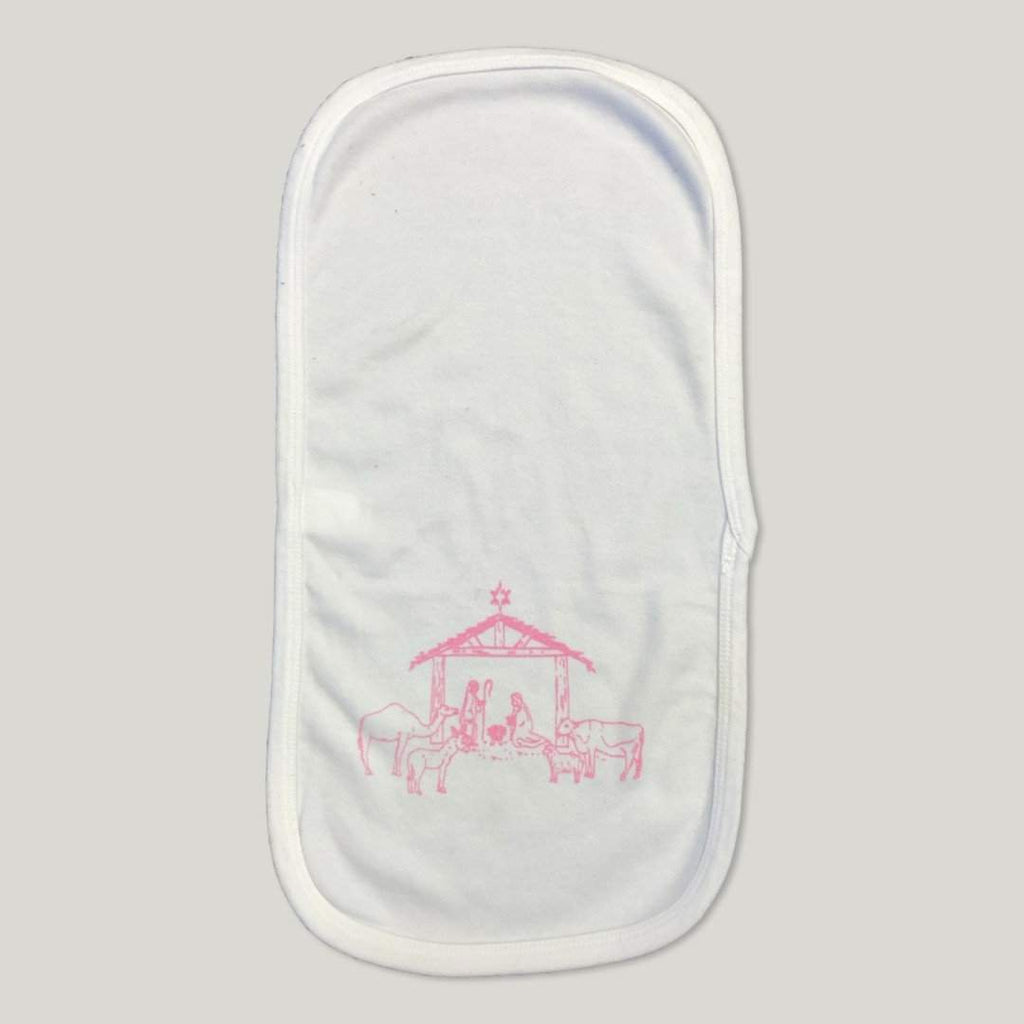 Nativity Burp Cloths