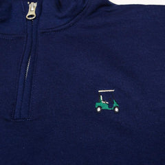 Golf Cart 1/4 Zip Sweatshirt