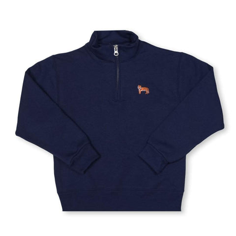 Tiger 1/4 Zip Sweatshirt