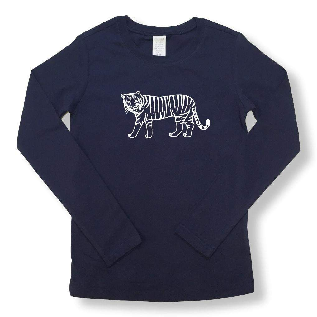 Tiger Long Sleeve Tee Kavio
