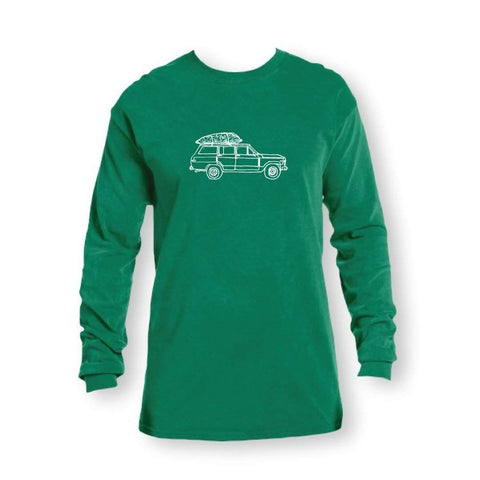 Oh Christmas Tree Adult Long Sleeve Tee