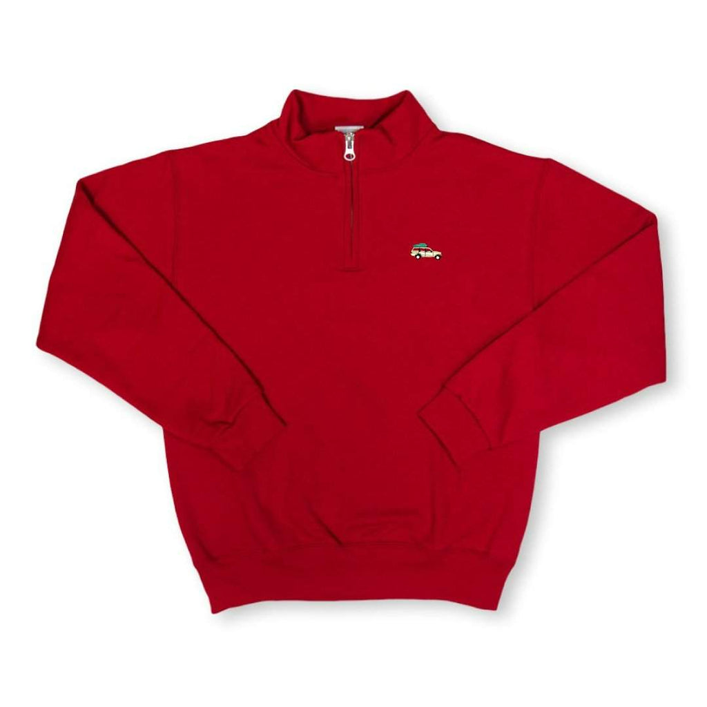Oh Christmas Tree 1/4 Zip Sweatshirt