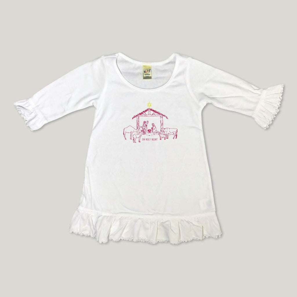 Nativity Long Sleeve 3/4 Dress