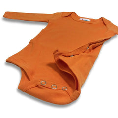 Little Pumpkin Long Sleeve Infant One-Piece - Honey Bee Tees - 2