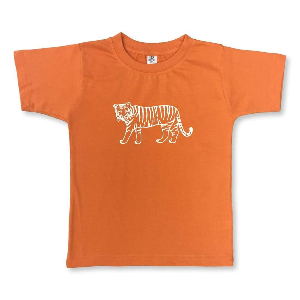 Tiger Orange Short Sleeve Tee