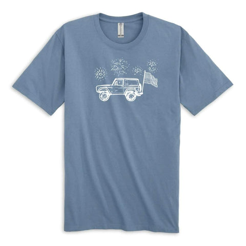 Patriotic 4x4 Adult Short Sleeve Tee