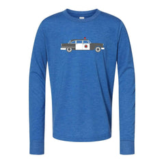 Police Car Long Sleeve Tee