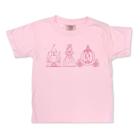 Princess Trio Short Sleeve Tee