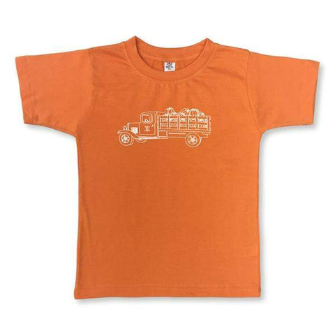 Pumpkin Truck Short Sleeve Tee