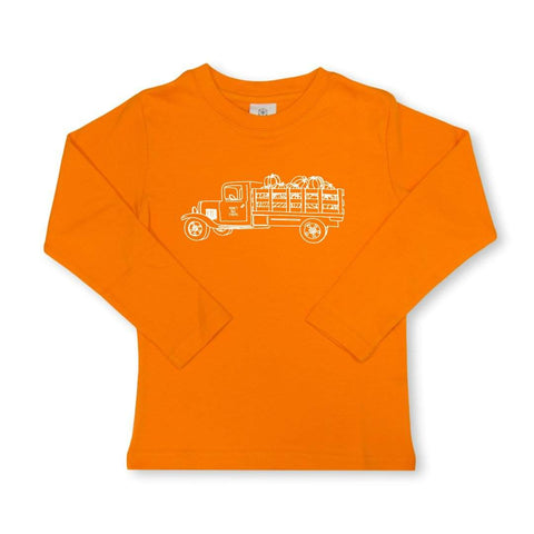 Pumpkin Truck Long Sleeve Tee