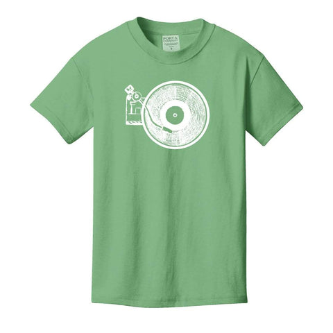 Record Player Short Sleeve Tee
