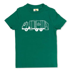 Short Sleeve Recycle Truck Sleepwear