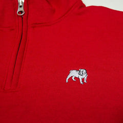 Bulldog 1/4 Zip Sweatshirt
